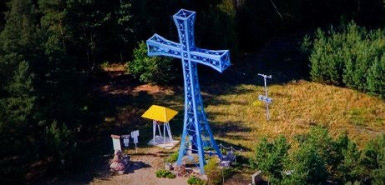 Góra Krzyża Jubileuszowego koło Kobyla Góry