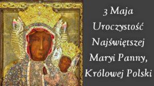 Znalezione obrazy dla zapytania Maryja królowa Polski
