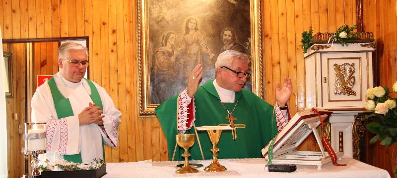 90-lecie kaplicy Świętej Rodziny wDPS wOstrowie