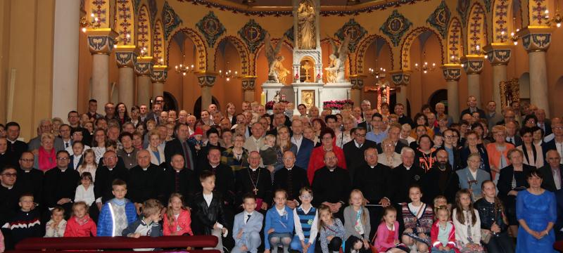 Jubileusz 40-lecia Domowego Kościoła wKonkatedrze