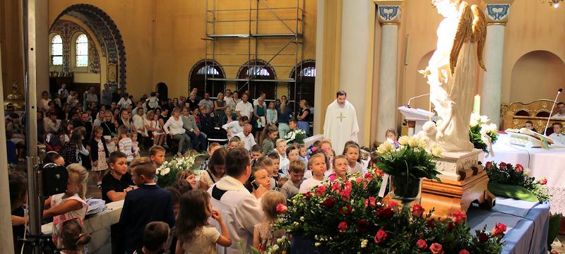 Dzieci powierzyły się opiece św.Michała Archanioła