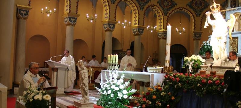 Zakończenie peregrynacji figury św.Michała Archanioła