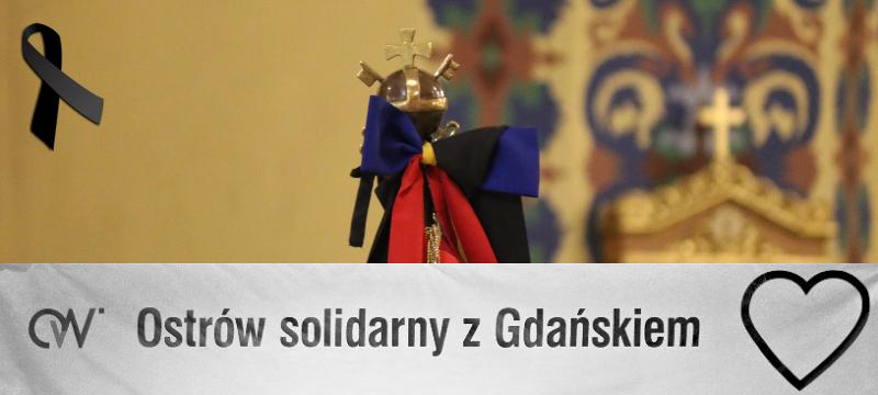 Ostrów solidarny zGdańskiem