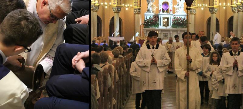 Wielki Czwartek – Msza św.Wieczerzy Pańskiej