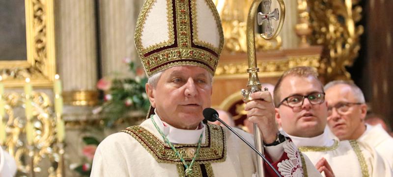 Biskup Edward dziękował za40 lat kapłaństwa
