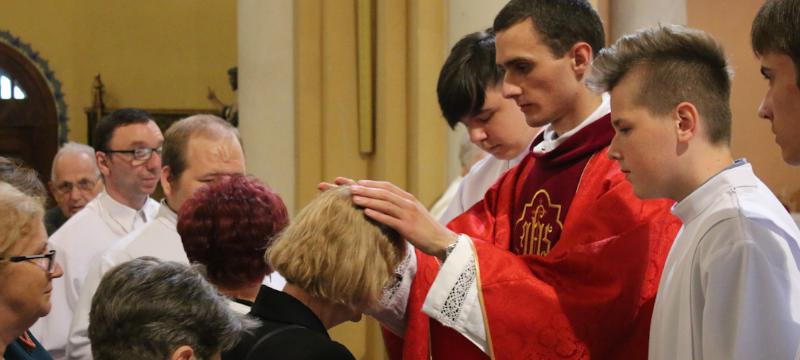 Ks.Witold Morozowicz odprawił Mszę św.wKonkatedrze