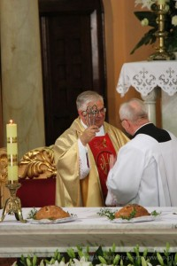 Powitanie Proboszcza i Wikariuszy