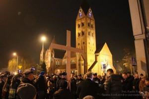 Droga Krzyżowa ulicami miasta Ostrowa Wlkp.