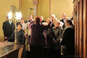 Msza św. w intencji chóru
