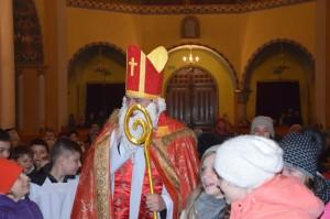Św. Mikołaj w Konkatedrze 2016