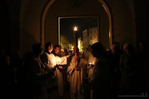 Wielka Sobota - Liturgia Wigilii Paschalnej 2017