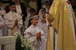 I Komunia św. w Konkatedrze