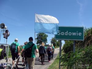 Z Brązową i Zieloną do Sadowia
