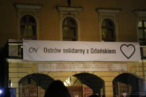 Ostrów solidarny z Gdańskiem
