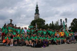 Zieloni u Matki Bożej Częstochowskiej