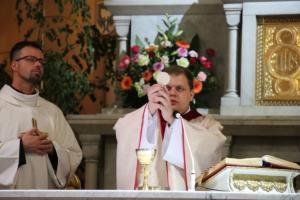 Ks. Mateusz Paprocki odprawił Mszę św. w Konkatedrze
