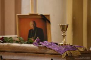 Uroczystość pogrzebowa ks. prał. Alfreda Mąki