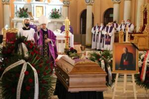 Pogrzeb ks. prał. Alfreda Mąki