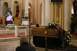 Uroczystość pogrzebowa ks. kan. Krzysztofa Nojmana