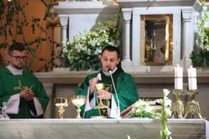 Ks. Lucjan Kupiec odprawił Mszę św. w Konkatedrze