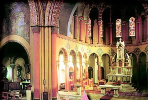 Wnętrze Konkatedry przed renowacją
