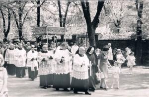 9.05.1976 r. - procesja odpustowa św. Stanisława B.M.