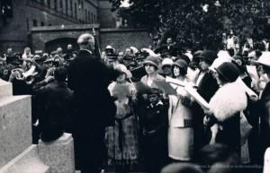 28.06.1925 r. - chór kościelny pw. św. Grzegorza pod dyrekcją Tomasza Bartkiewicza.