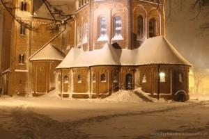 Konkatedra zimą